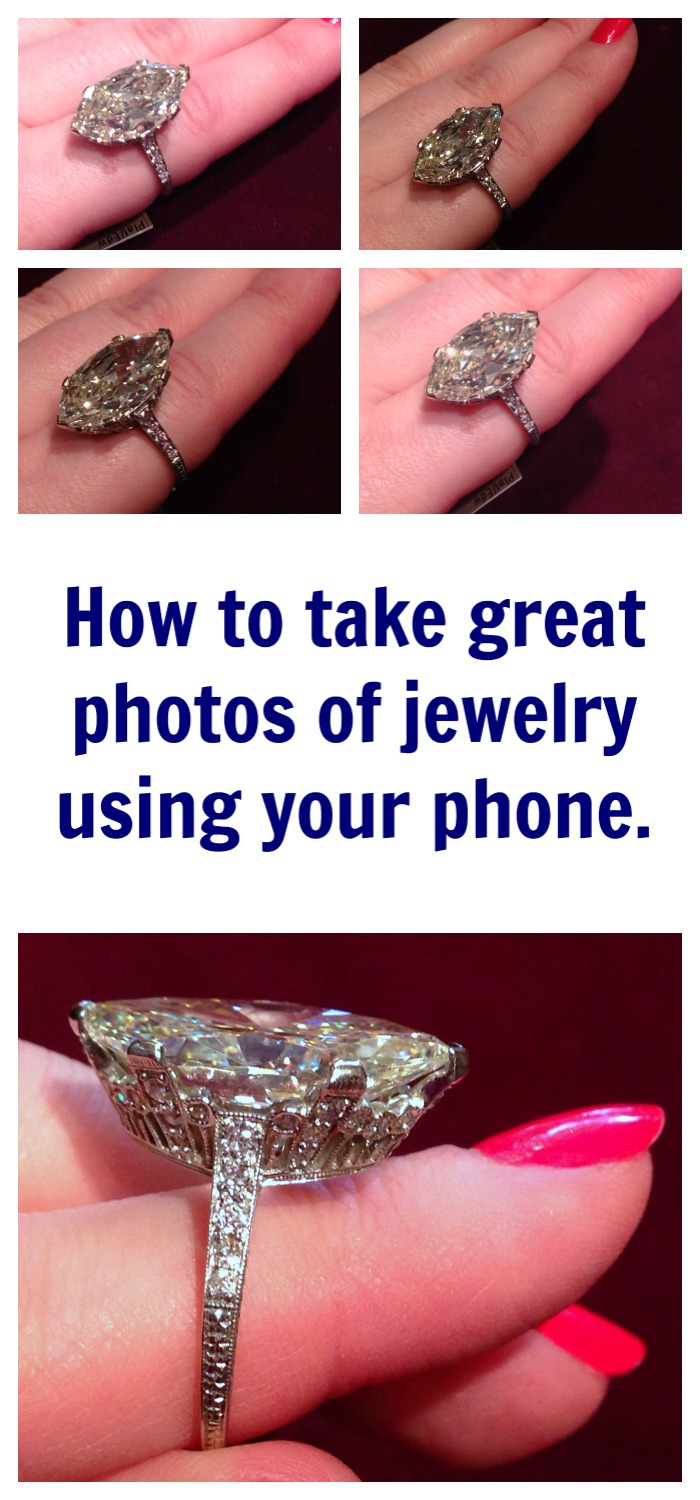 How to take great jewelry photos with your phone - up your phone photo game by focusing on these 5 factors
