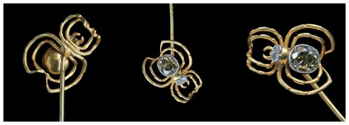 Spider jewelry! This is an antique Art Nouveau stickpin from Tadema Gallery