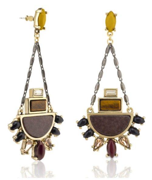 Capwell + Co It Girl chandelier earrings.