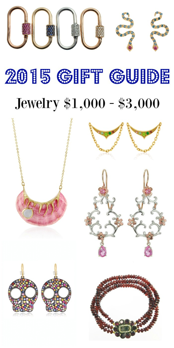 Diamonds in the Library's 2015 jewelry gift guide - jewelry $1000- $3000