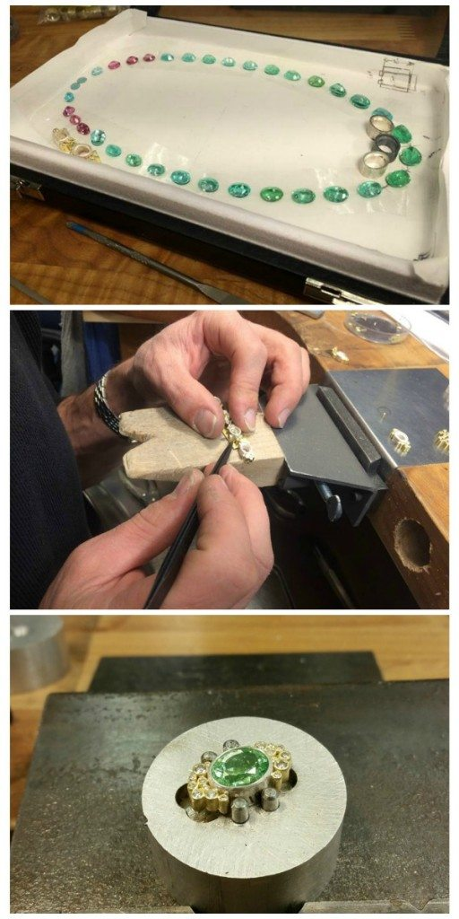 Behind the making of a one-of-a-kind Todd Reed tourmaline and diamond necklace.