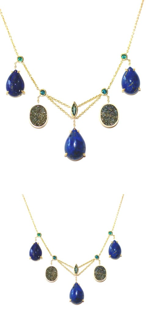 An exceptional necklace by Unhada jewelry.