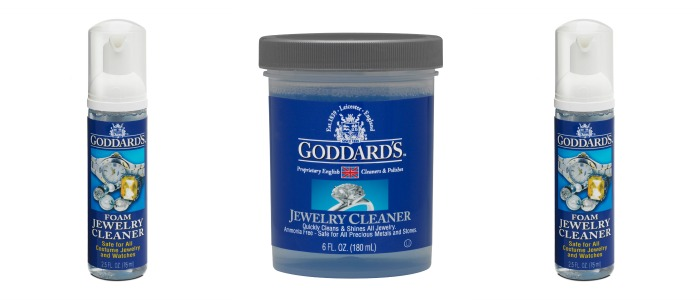 Goddard's jewelry cleaner is safe and effective on all kinds of jewelry, from delicate antiques to costume pieces.