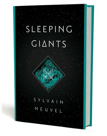 My book review of Sylvain Neuvel's Sleeping Giants - a SciFi thriller so good that even this reviewer, who usually hates SciFi, loved it.