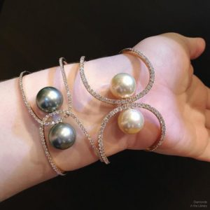 New cuffs from @yokolondonpearls! Light, luxe, and so wonderfully wearable.