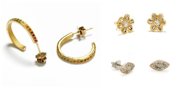 Beautiful earrings by Elisa Solomon.