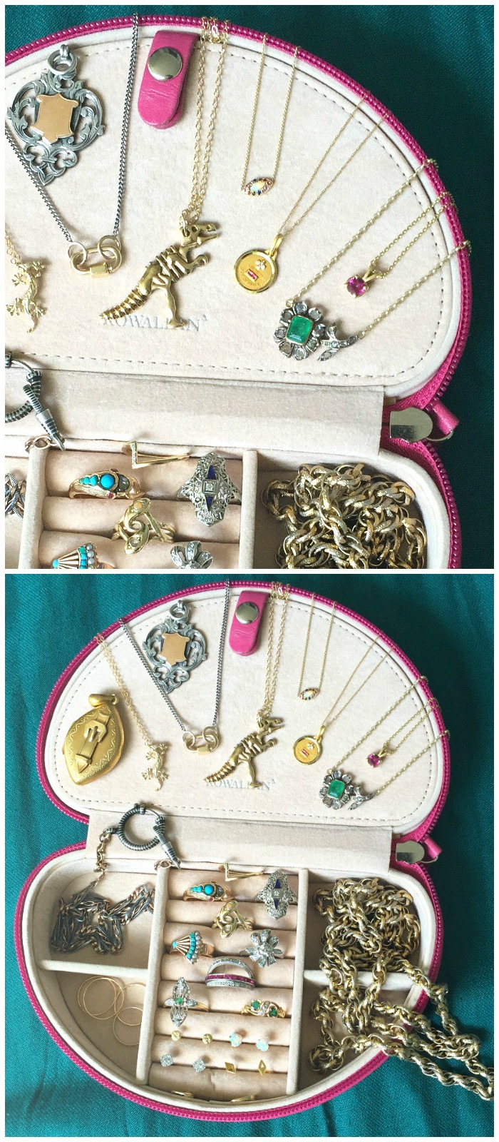 My #jewelryuniform - the daily favorites I reach for over and over in my own jewelry box. Read the full story behind each of these pieces in the full article.
