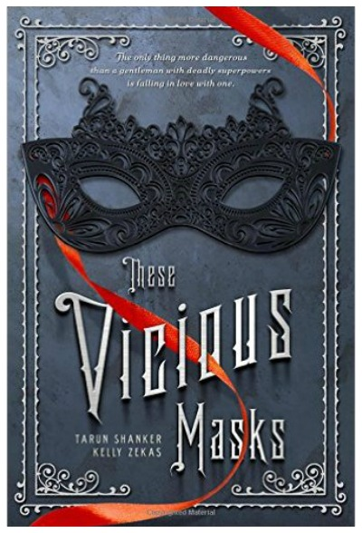 These Vicious Masks by Tarun Shanker. The premise for this first book in a YA fantasy series is thus - several Victorian era young adults discover that they all have certain special powers.