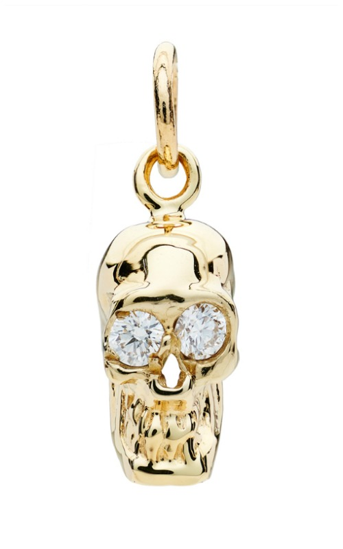 I love these Alexis Kletjian skulls! In yellow gold with diamonds.
