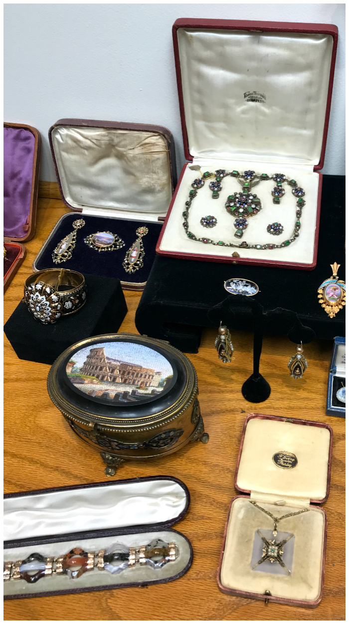 A tiny selection of the vast array of treasures at Joden. Such a great jewelry store.