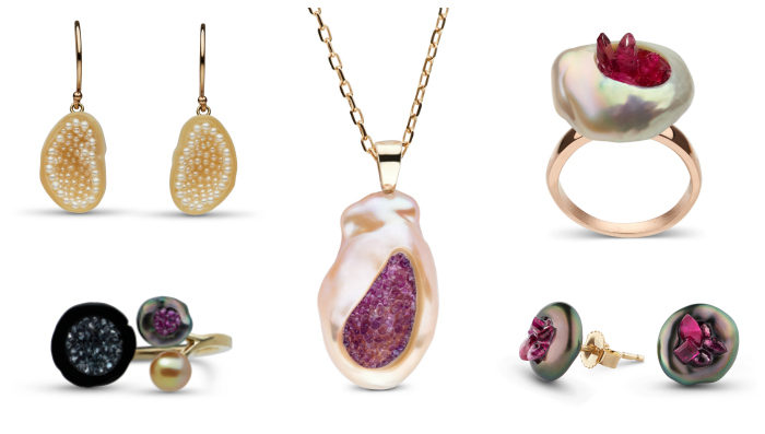 My curated selection of little h pearl jewelry! You can take 15% off of these beauties for a limited time with my exclusive coupon code.