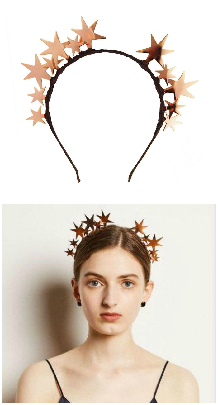 I love this rose gold star headband by JY Jewels!! It's almost more of a tiara.