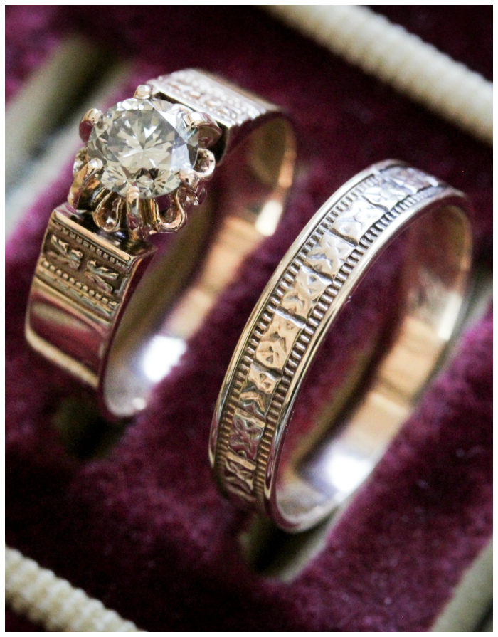 Beautiful Victorian era gold rings from Market Square Jewelers.