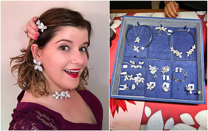 A beautiful box filled with Pasquale Bruni diamond jewels! Obviously I put them all on. Love the hair clip especially!