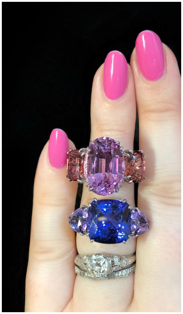 I can't believe the beauty of these Carlo Barberis gemstone rings!! So beautiful.