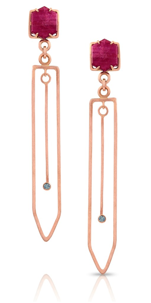 I love these earrings by Enji Studios! From The Jewelry Showcase.