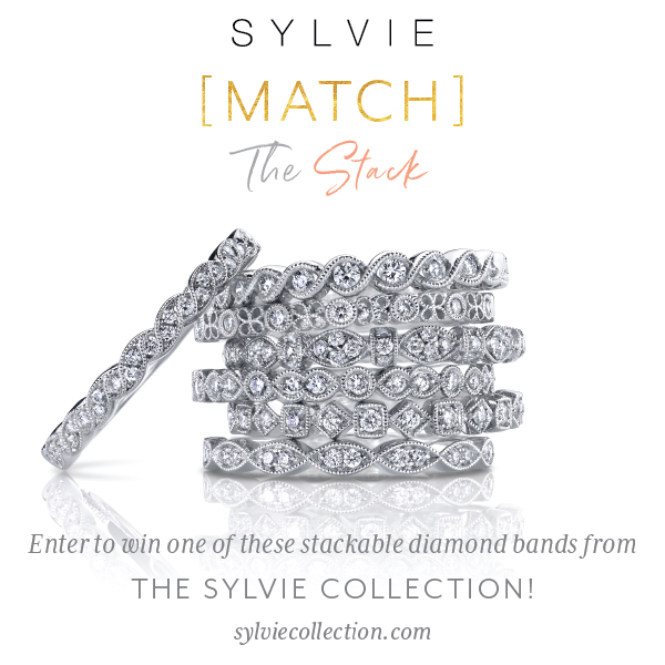 Enter to WIN a free diamond stacking ring from Sylvie Collection! #MatchTheStack