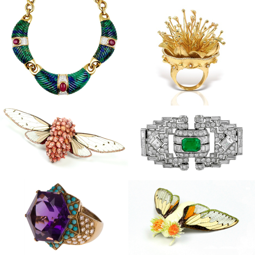NYCJW Jewels by David Webb, Marta Mattson, Maria Lalaounis, Cartier, and Mauboussin