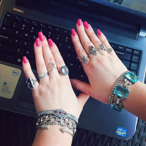 Becky Stone, jewelry writer.