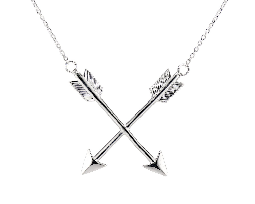 The Arrows of Hercules pendant from KIL NYC's Teras Collection, which is inspired by Greek mythology