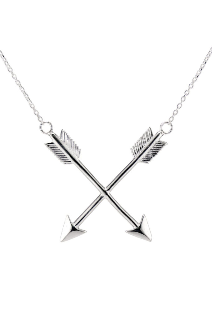 The Arrows of Hercules pendant from KIL NYC's Teras Collection, which is inspired by Greek mythology.