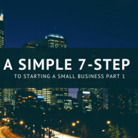 A Simple 7-Step to starting a small business