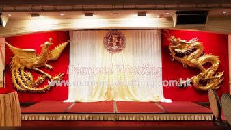 Chinese Wedding Backdrop