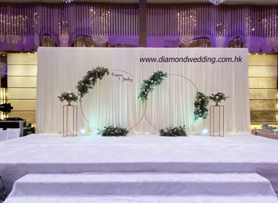 Backdrop with arch
