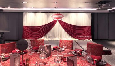 Chinese Red Wedding Backdrop
