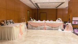 Wedding decoration - peach pink