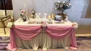 Wedding decoration - pink