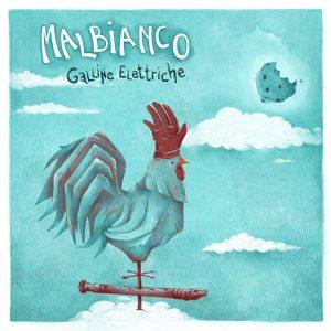 """La copertina di """"Galline elettriche"""""""