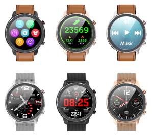 Microwear L11 Smart Watch Touch Screen Sport Tracker Heart rate ECG Blood pressure Call reminder bluetooth IP68 Men Smartwatch