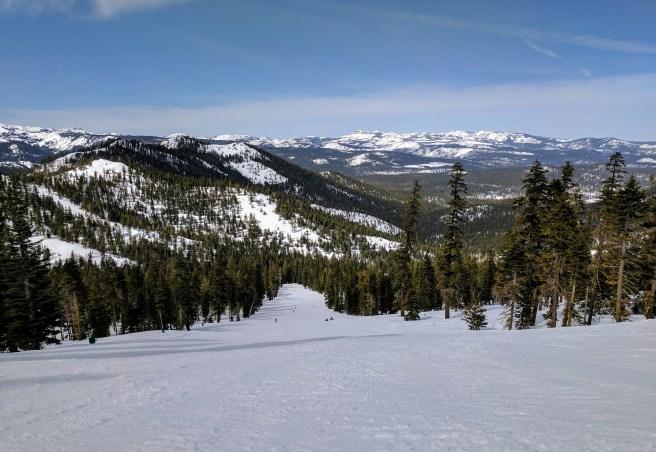 Northstar ski resort in Tahoe, CA