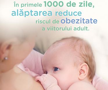 Alaptarea - minune pentru bebelus!