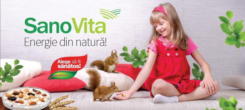 Un stil de viață sănătos, încurajat de Sano Vita