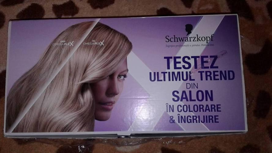 Testare Schwarzkopf Color Expert cu OmegaPlex, prima vopsea de păr pentru utilizare acasă. Simte diferența!