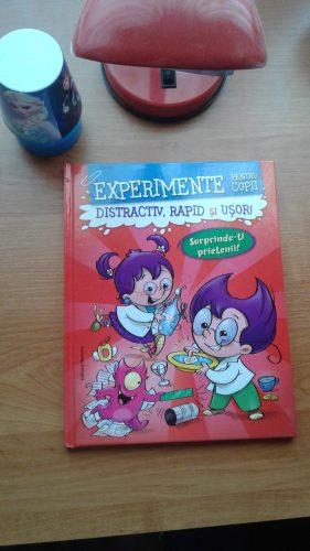 Experimente pentru copii...ce poate fi mai distractiv?