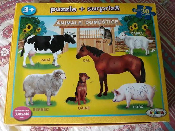 Puzzle-ul, capacitatea copilului de a se concentra pentru a rezolva un joc!