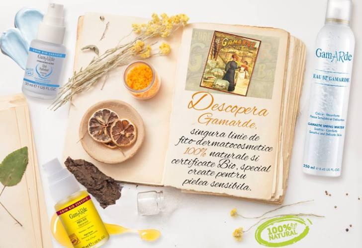 Produsele Gamarde - cosmetice BIO, grija față de om și natură!