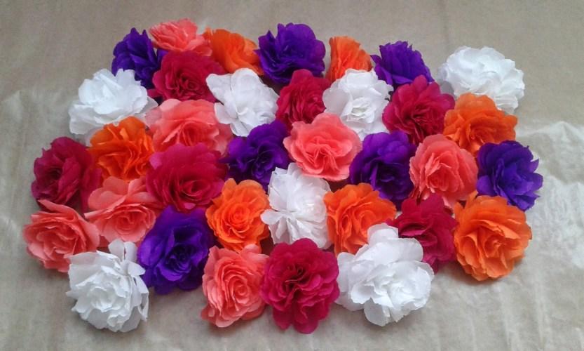 Primavara vine mai repede cu ajutorul unei coronite de flori!