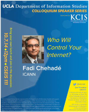 Fadi Chehadé, ICANN: Who Will Control Your Internet?