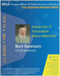 UCLA Anderson's Burt Swanson