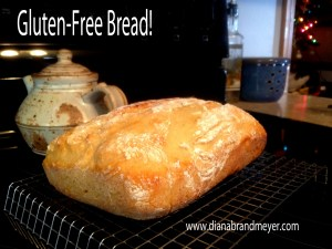 Shoesting bakes Glutenfree bread