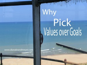 Values over Goals