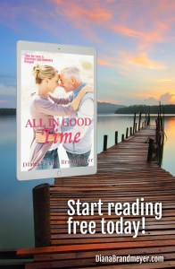 all in good time book lake with a pier