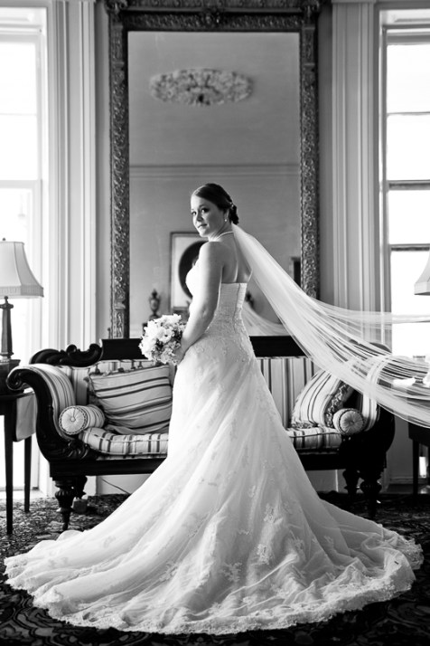 Historic Charleston Home Bridal Portrait