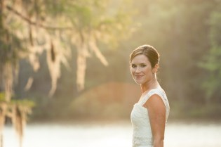 Wachesaw Plantation on Pawleys Island Bridal Portrait