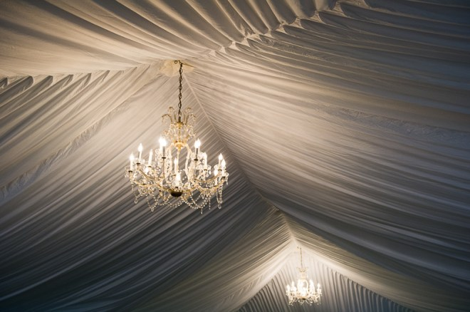 reception chandelier lighting