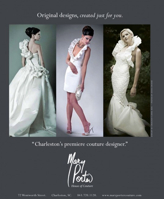 Mary Porter Bridal Fashion Ad by Diana Deaver